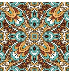 Tribal ethnic ornamental abstract pattern vector