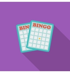 Bingo icon vector