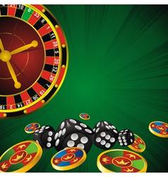 Casino card vector