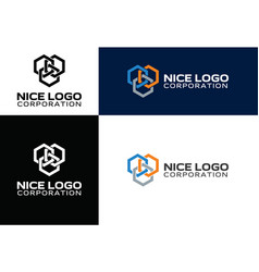 Logo construction industry vector
