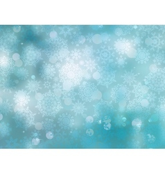 Cold christmas snowflakes background vector
