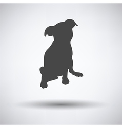 Puppy icon vector image vector image