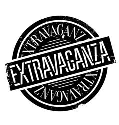 Extravaganza rubber stamp vector