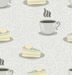 cup seamless vector image