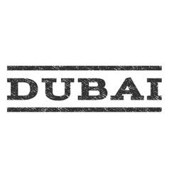 Dubai watermark stamp vector