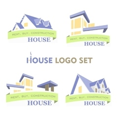 House Set Logo vector image