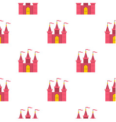 Castle pattern seamless vector