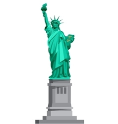 Statue of liberty usa vector