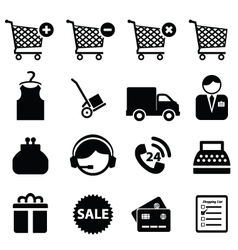Buy and sell icons vector