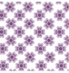 floral pattern background decoration card vector image