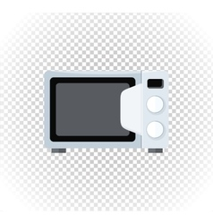 Sale of Household Appliances Microwave vector image vector image