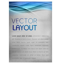 Background blue layout vector