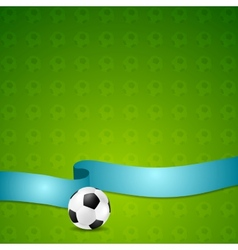 Soccer football background vector