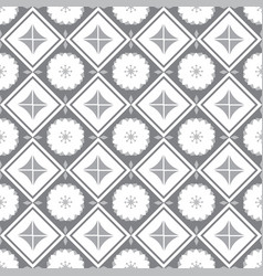 Ceramic decorative tiles vector