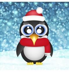 penguin icon vector image