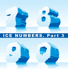 Ice numbers part 3 vector
