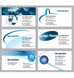biz cards vector image