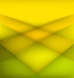 Abstract geometric yellow background vector image
