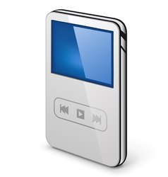 Personal media player vector