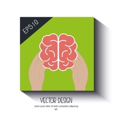 Brain storm design vector