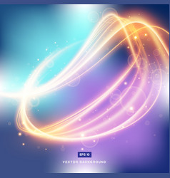 abstract background gradient with light fire in vector image vector image