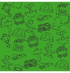 Metallurgy set pattern vector image vector image