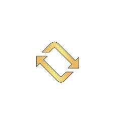 Refresh computer symbol vector
