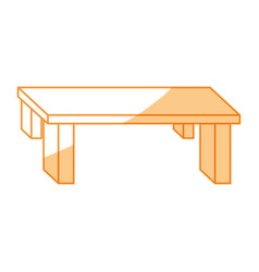Table furniture wood vector