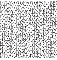 seamless knitting pattern vector image