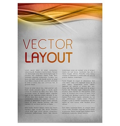 Background red layout vector
