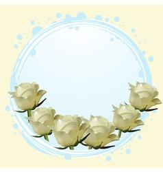 cream background vector image
