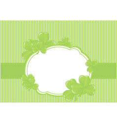 Greeting cards st patrick day vector