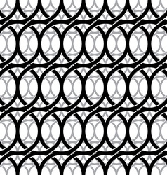 Monochrome vintage style netting seamless pattern vector