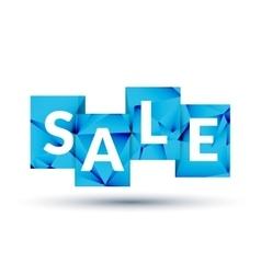 Blue sale labels promotional concept vector