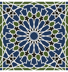 Arabesque seamless pattern vector image vector image
