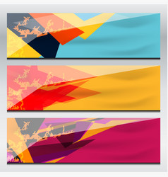 banner graphic design vector image vector image