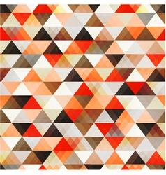 seamless orange pattern background vector image vector image