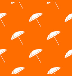 umbrella pattern seamless vector image vector image