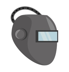 welder mask eyes security sign vector image