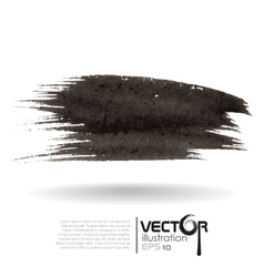 Abstract Black Blurred Background vector image vector image