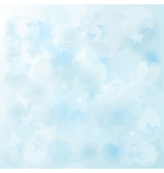 gentle blue christmas vector image vector image