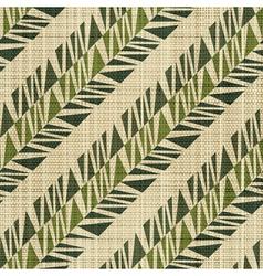 geometric textile print vector image vector image
