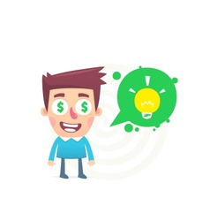 Good Idea vector image vector image