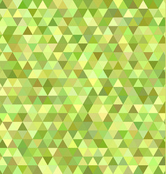 Lime triangle mosaic background design vector