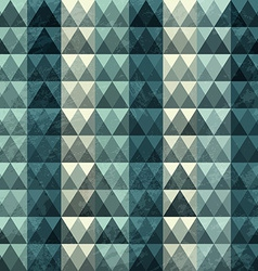 triangle blue pattern seamless vector image
