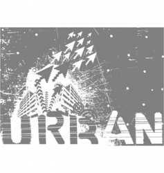 urban city vector image vector image