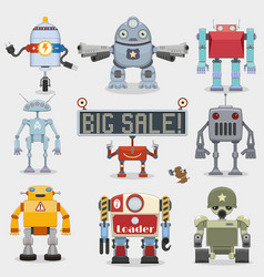 Robot set vector