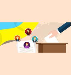 Ukraine democracy political process selecting vector