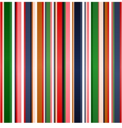 seamless colorful stripes pattern vector image