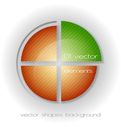 Business circle light ii vector
